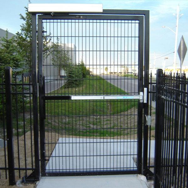 Pedestrian Gate Background