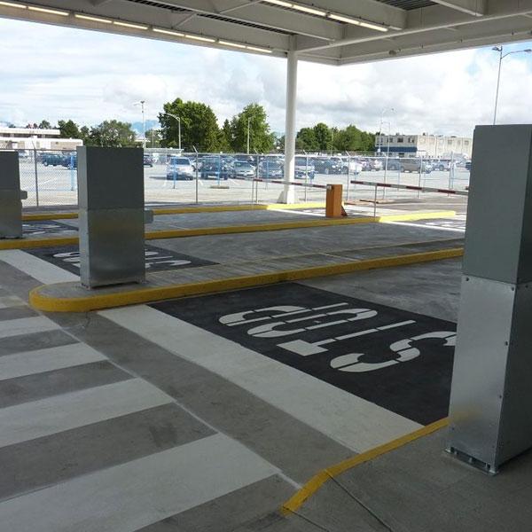 Gate Control Stand