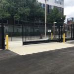 Delta Gate, Powder Coated Black