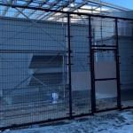 Rampart 284 Welded Wire Enclosure, Black Finish