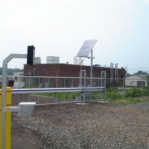 Solar-Powered Alpha Cantilever Sliding Gate