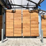 PDXT, Custom Wood Panel Infill