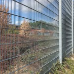 Stacked Rampart 284 Welded Wire Panels, Galvanized Finish