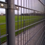 Close-Up of Rampart 280 Welded Wire Fence and Railing