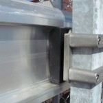 Close-Up of Concealed Rollers