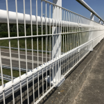 Rampart 280 Welded Wire Railing, Powder Coated White