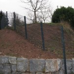 Rampart 280 Welded Wire Installed on Steep Slope