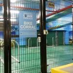Rampart 286 Welded Wire Bike Enclosure
