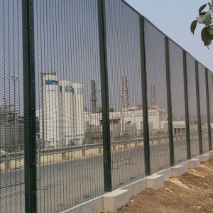 Rampart 358 Security Welded Wire Fence